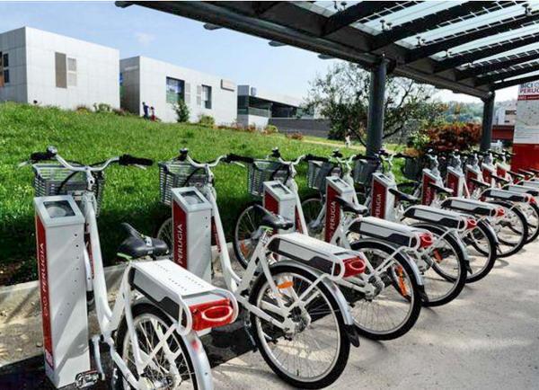 bike sharing, Perugia