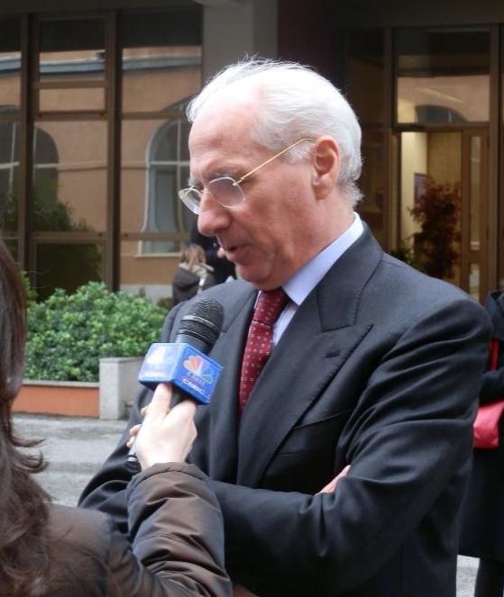 Il Presidente dell'ANAS Pietro Ciucci