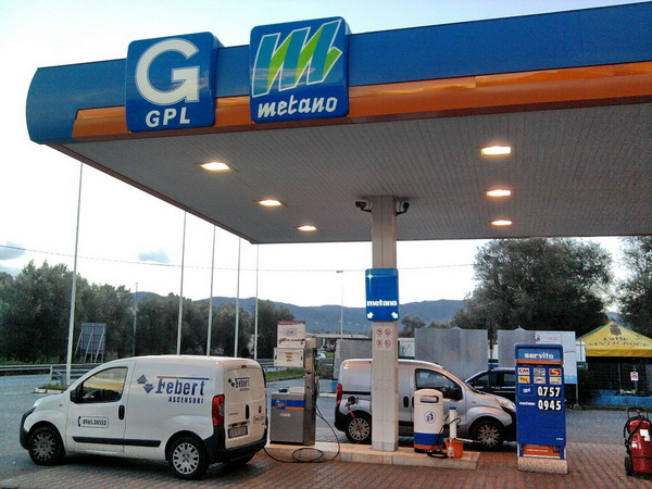 Distributori di metano in Italia