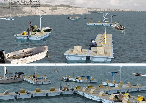 Ponte ecologico reversibile